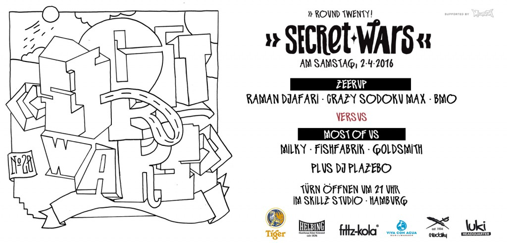 Secret Wars Round 20 – Art Battle Hamburg
