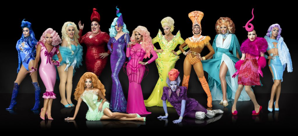 Die Dragqueens von RuPaul's Drag Race Live! in Hamburg